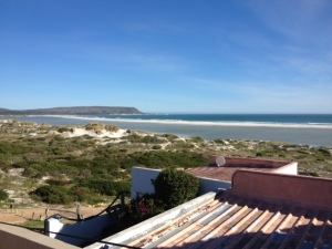 view from the Team House in SA